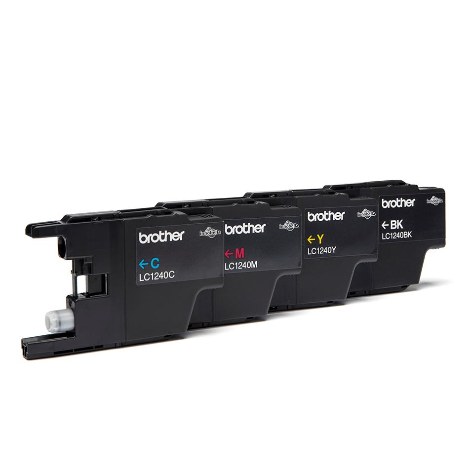 Originele Brother LC-1240VALBP inktcartridge voordeelverpakking  2