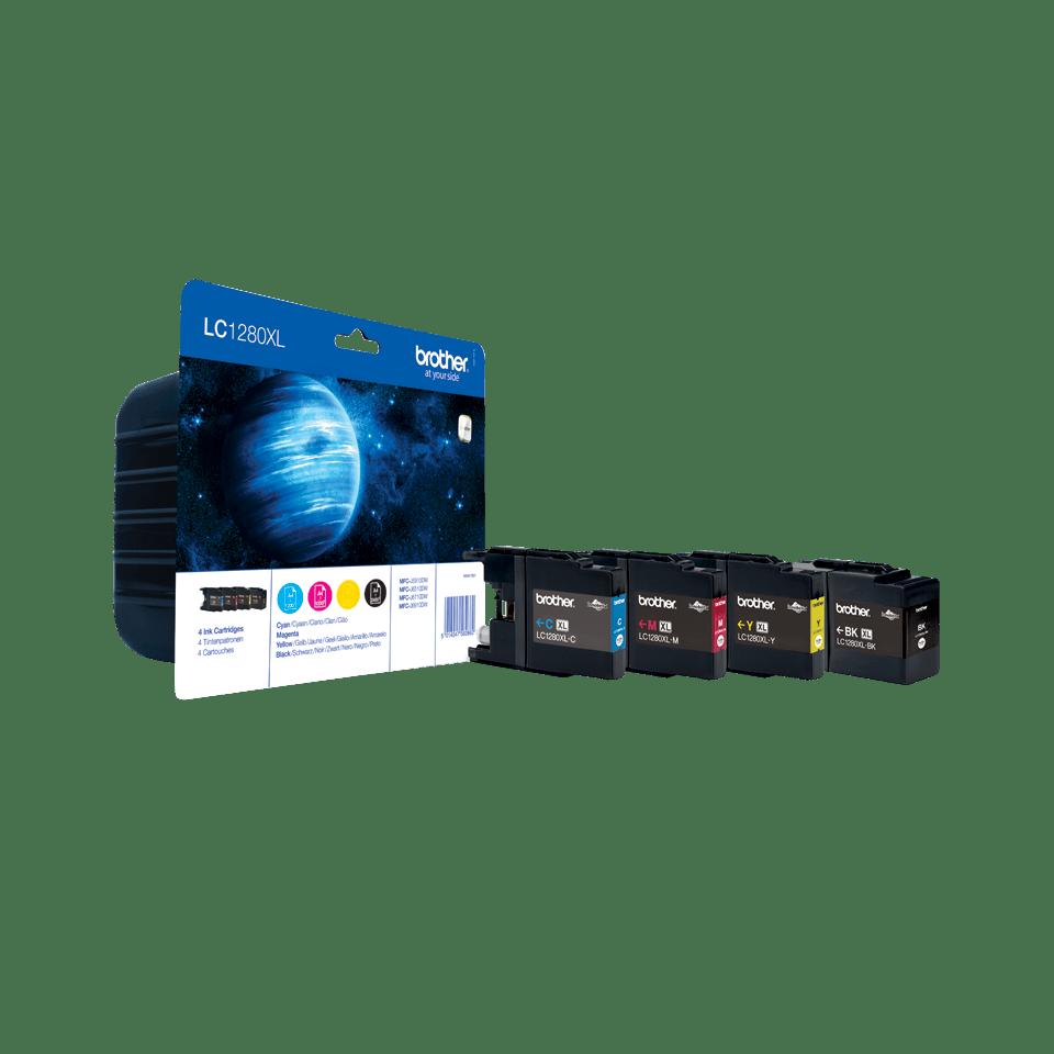 Originele Brother LC-1280XLVALBP inktcartridge met hoge capaciteit  2