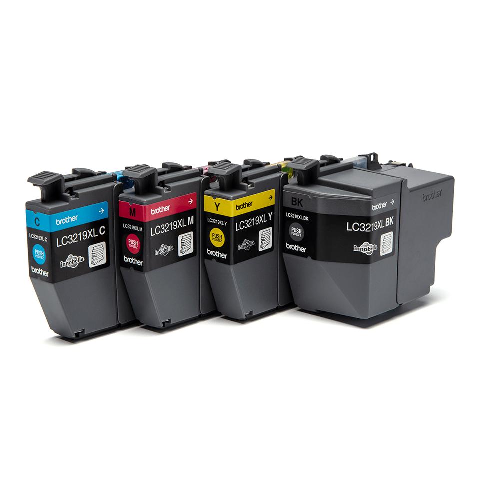 Originele Brother LC-3219XLVALBP inktcartridge voordeelverpakking.  2