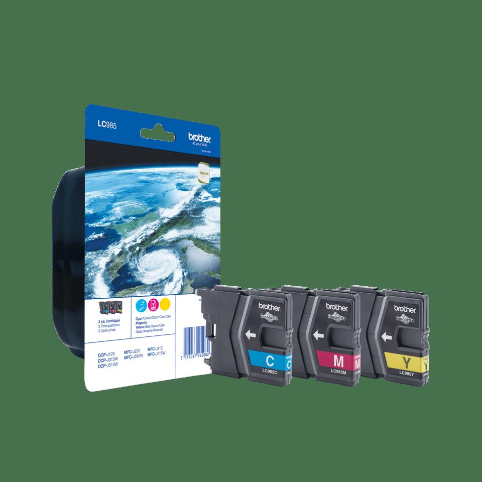 Originele Brother LC-985RBWBP inktcartridge voordeelverpakking