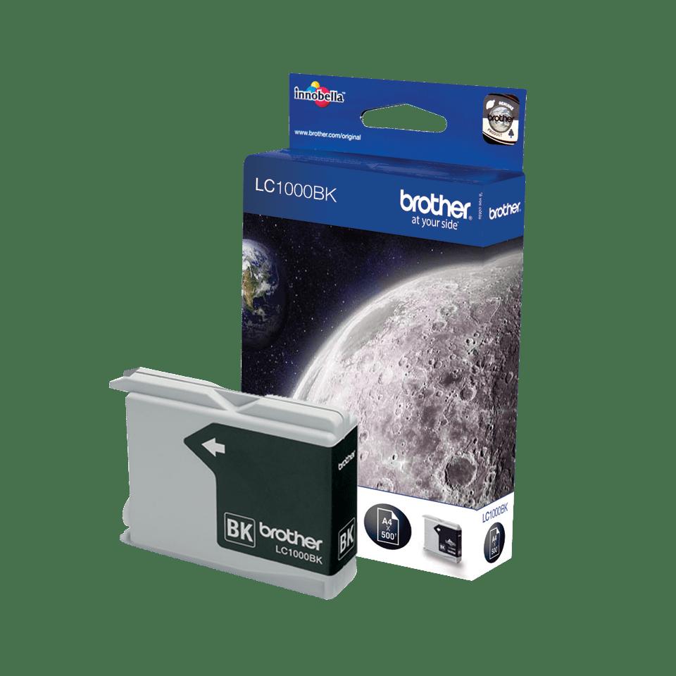 Originele Brother LC-1000BK zwarte inktcartridge 2
