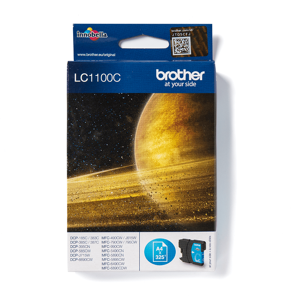 Originele Brother LC-1100C cyaan inktcartridge