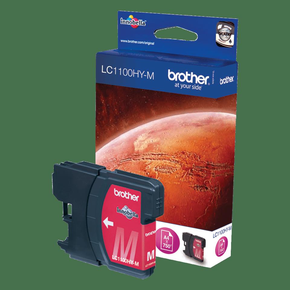 Originele Brother LC-1100HYM magenta inktcartridge met hoge capaciteit