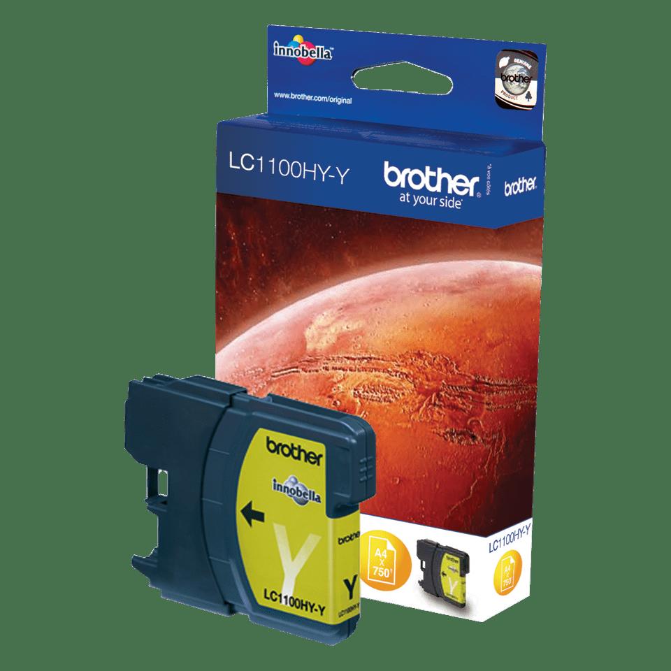 Originele Brother LC-1100HYY gele inktcartridge met hoge capaciteit