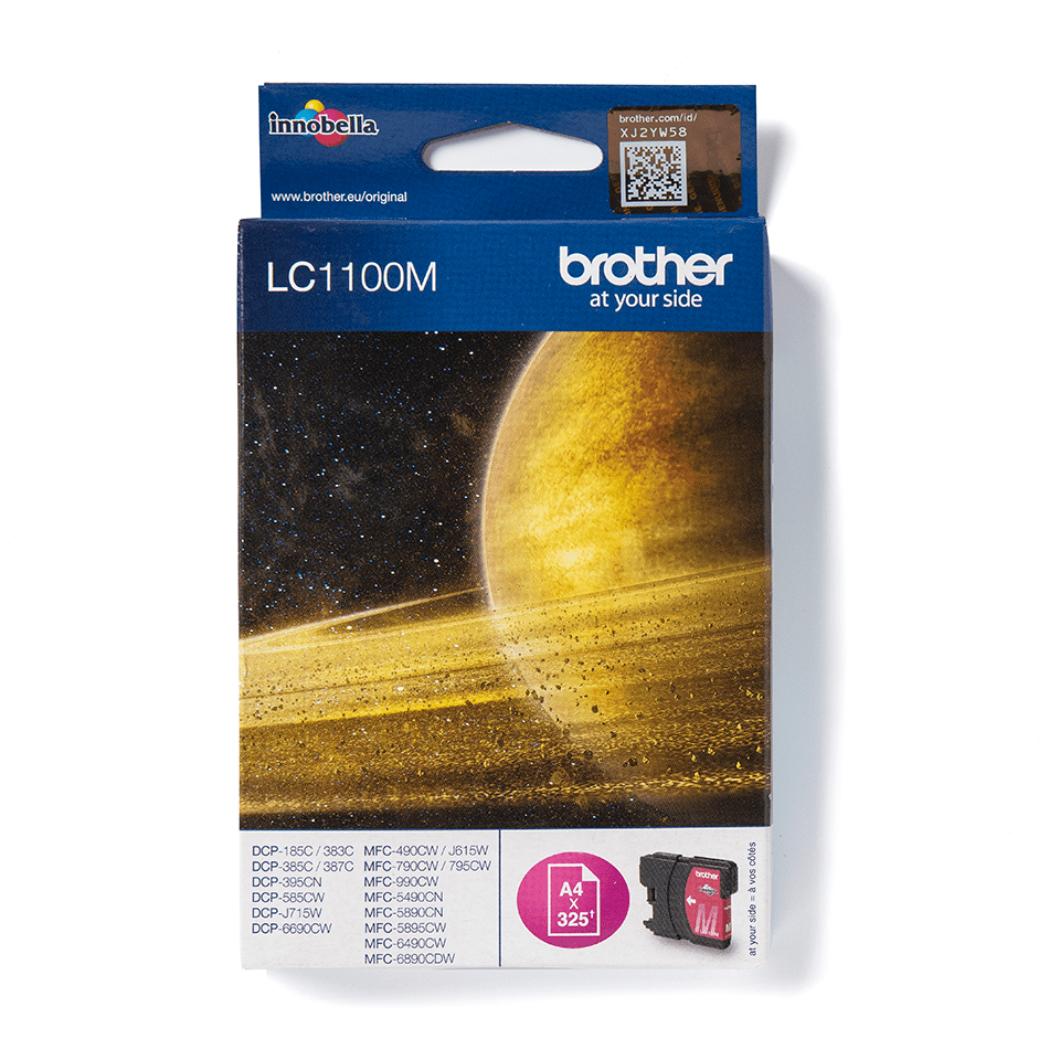 Originele Brother LC-1100M magenta inktcartridge