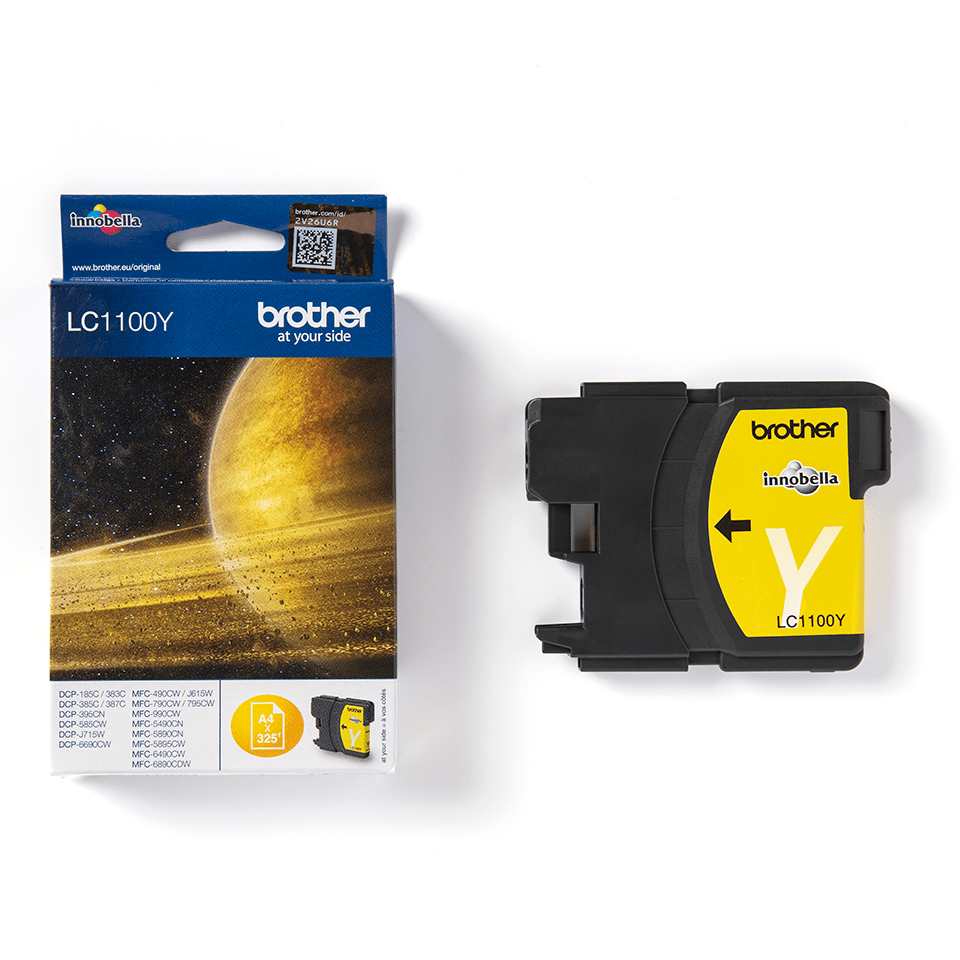Originele Brother LC-1100Y gele inktcartridge 3