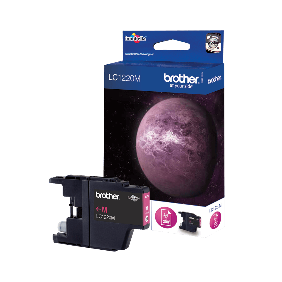 Originele Brother LC-1220M magenta inktcartridge
