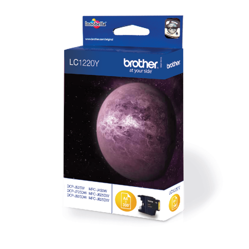 Originele Brother LC-1220Y gele inktcartridge