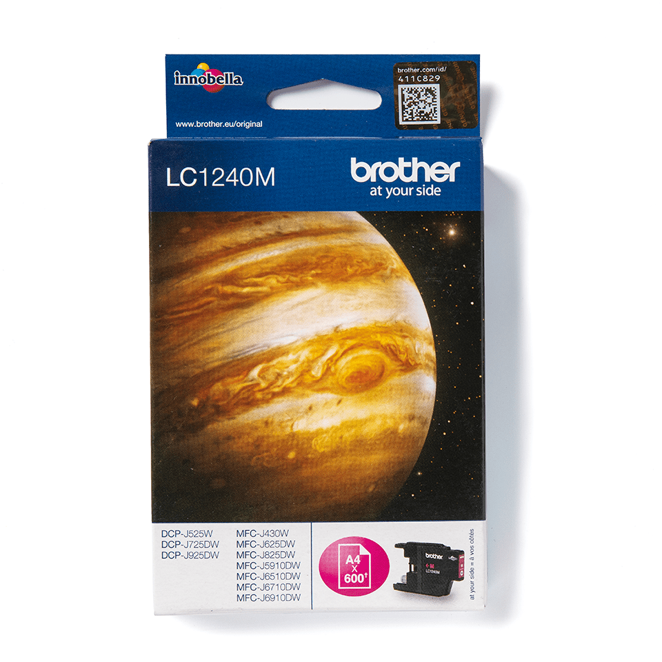 Originele Brother LC-1240M magenta inktcartridge
