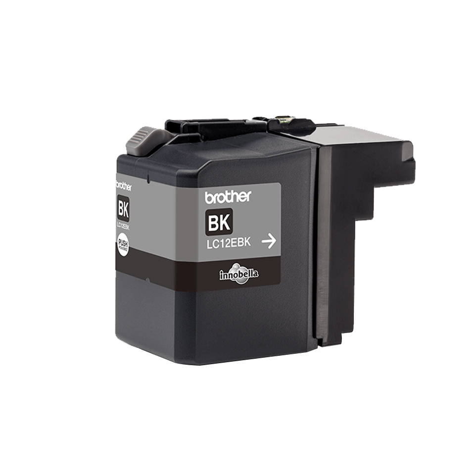 Originele Brother LC-12EBK zwarte inktcartridge