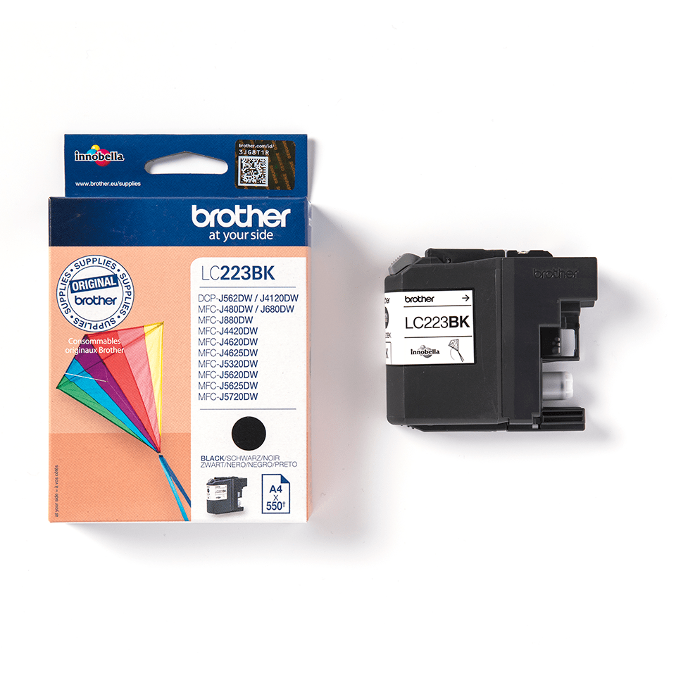 Originele Brother LC-223BK zwarte inktcartridge  3