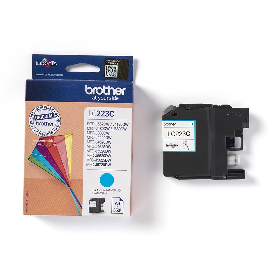 Originele Brother LC-223C cyaan inktcartridge 3