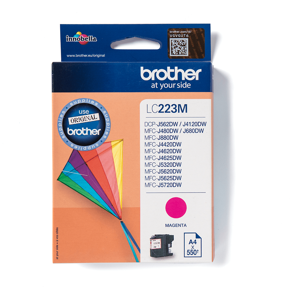 Originele Brother LC-223M magenta inktcartridge