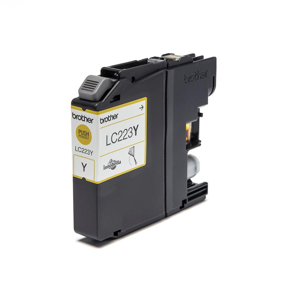 Originele Brother LC-223Y gele inktcartridge 2