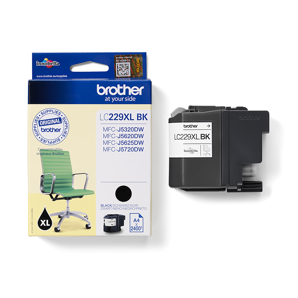 Originele Brother LC-227XLBK zwarte inktcartridge