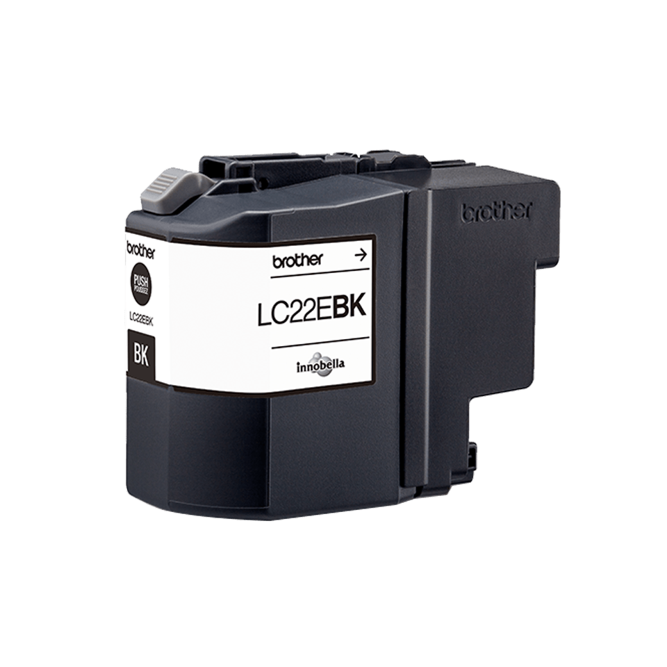Originele Brother LC-22EBK zwarte inktcartridge