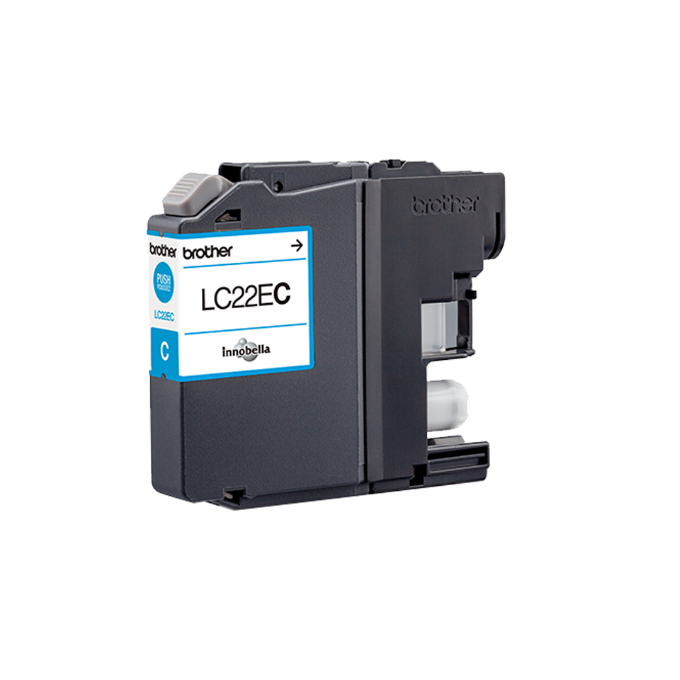 Originele Brother LC-22EC cyaan inktcartridge