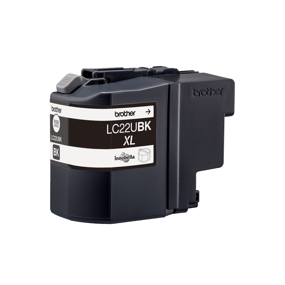 Originele Brother LC-22UBK zwarte inktcartridge 3