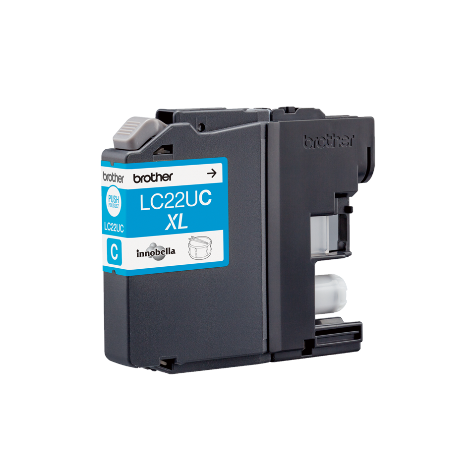 Originele Brother LC-22UC cyaan inktcartridge 3