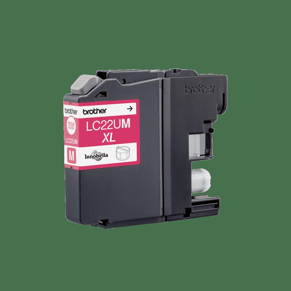 Originele Brother LC-22UM magenta inktcartridge 3