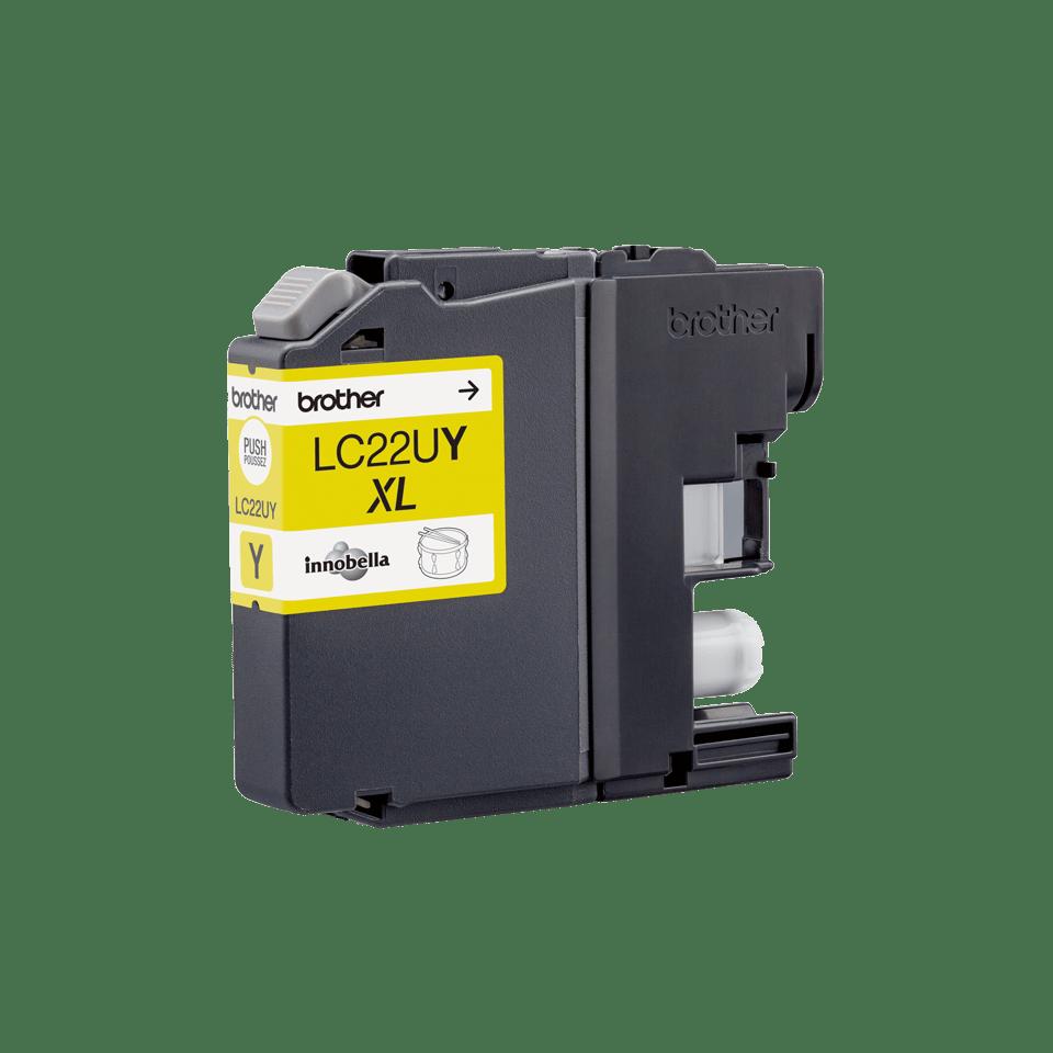 Originele Brother LC-22UY gele inktcartridge met ultra hoge capaciteit  3