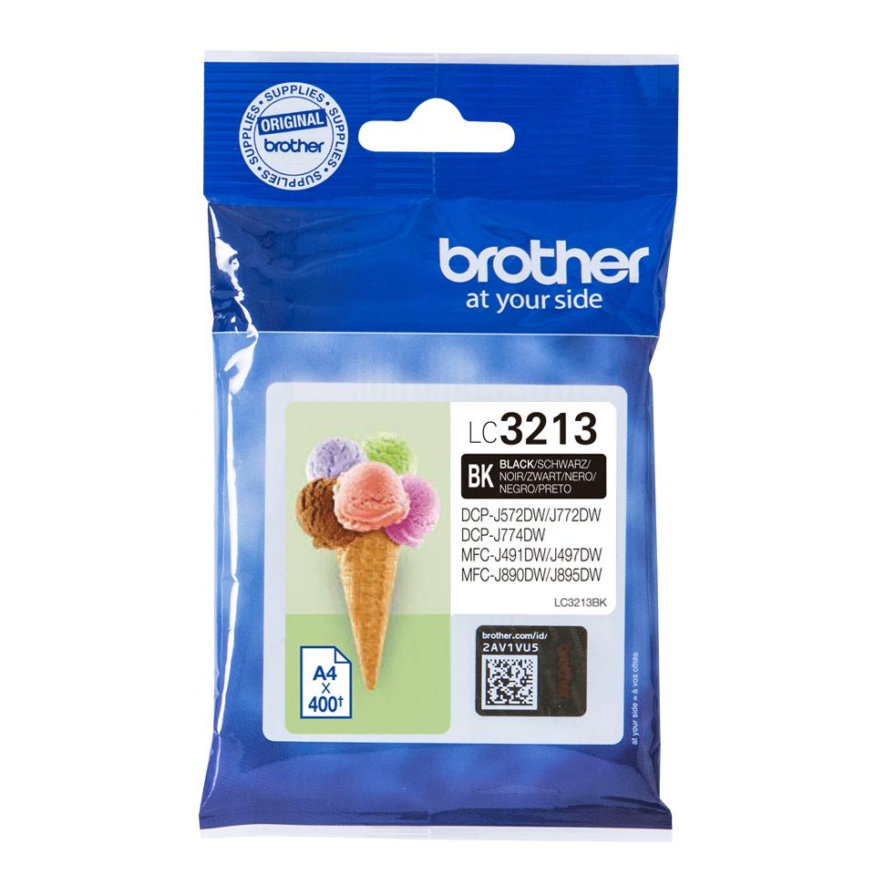 Originele Brother LC-3213BK zwarte inktcartridge met hoge capaciteit 2