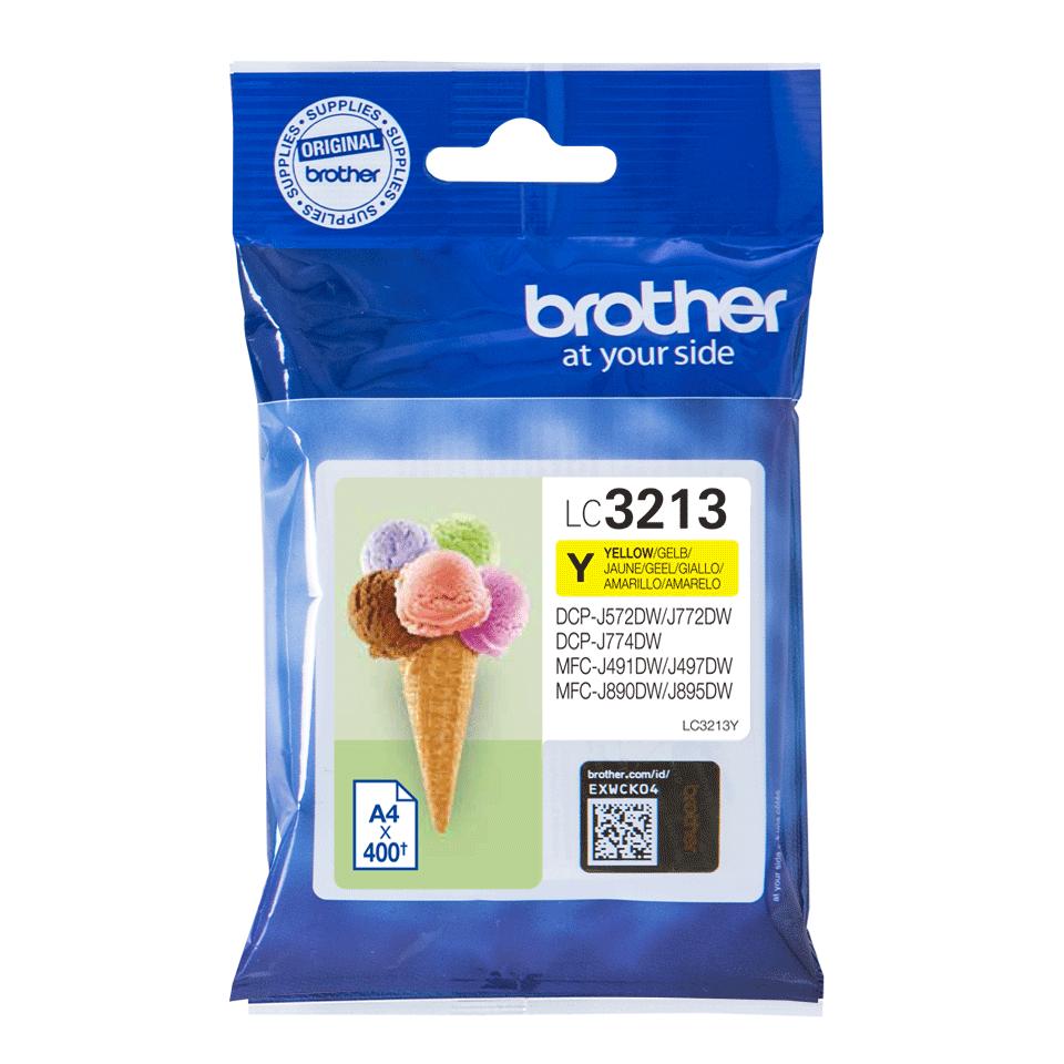Originele Brother LC-3213Y gele inktcartridge met hoge capaciteit 2