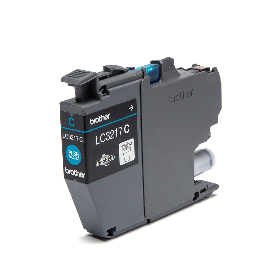 Originele Brother LC-3217C cyaan inktcartridge 2