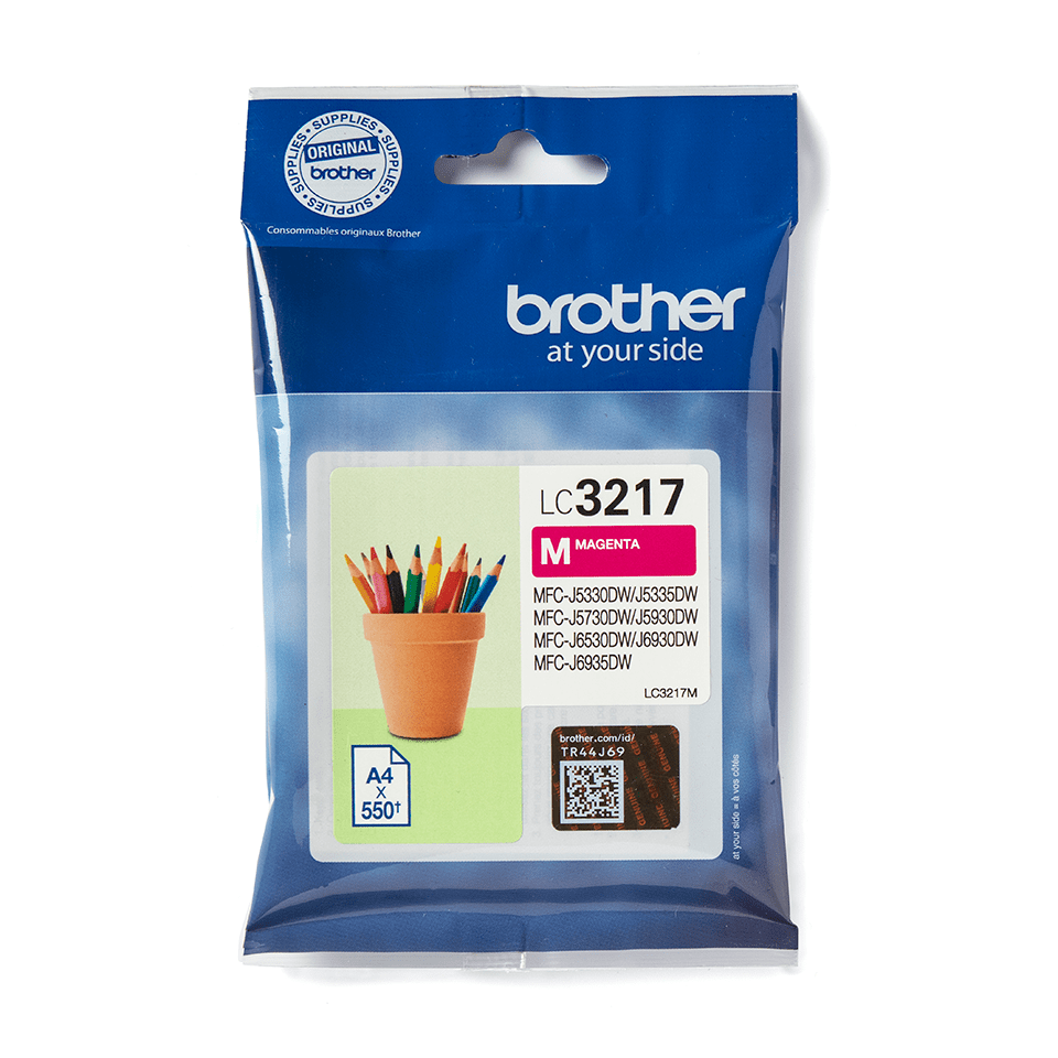 Originele Brother LC-3217M magenta inktcartridge 2