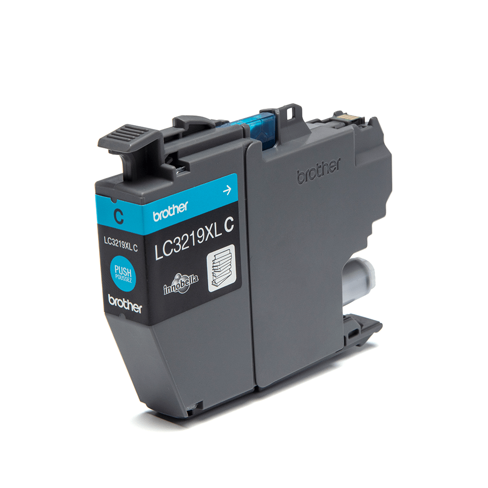 Originele Brother LC-3219XLC cyaan inktcartridge 2