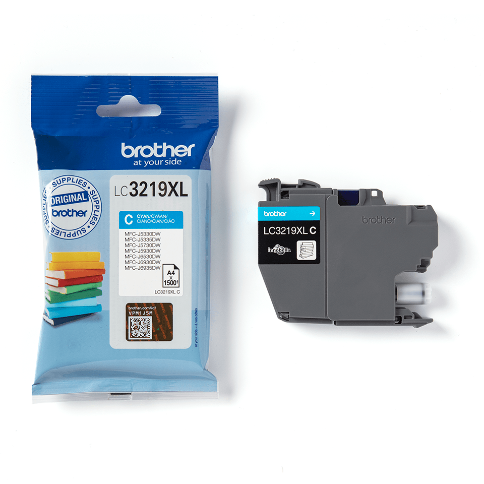 Originele Brother LC-3219XLC cyaan inktcartridge 3