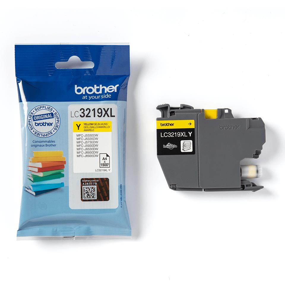 Originele Brother LC-3219XLY gele inktcartridge 3