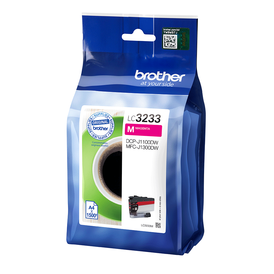 Originele Brother LC-3233M magenta inktcartridge