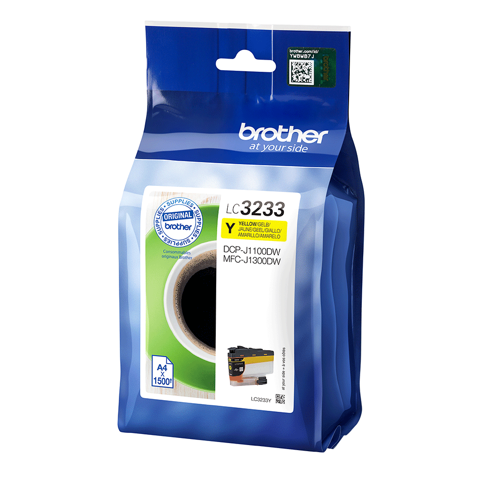 Originele Brother LC-3233Y gele inktcartridge