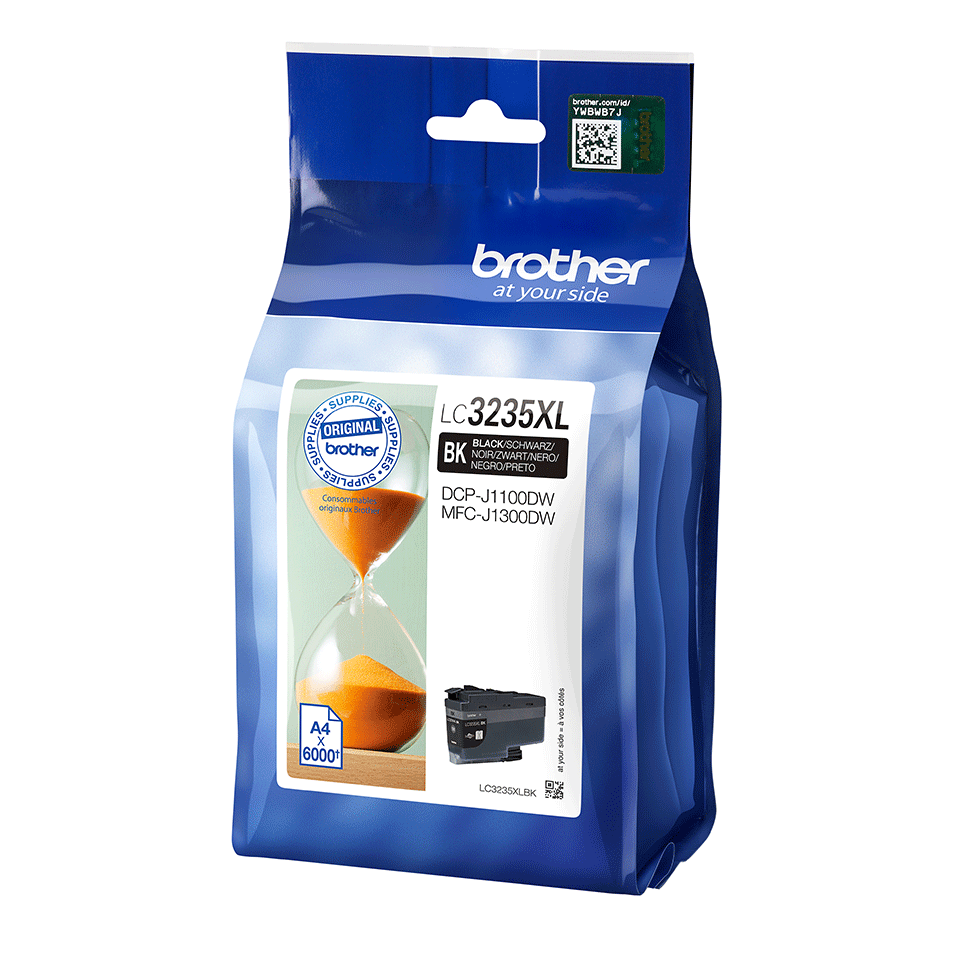 Originele Brother LC-3235XLBK zwarte inktcartridge 2