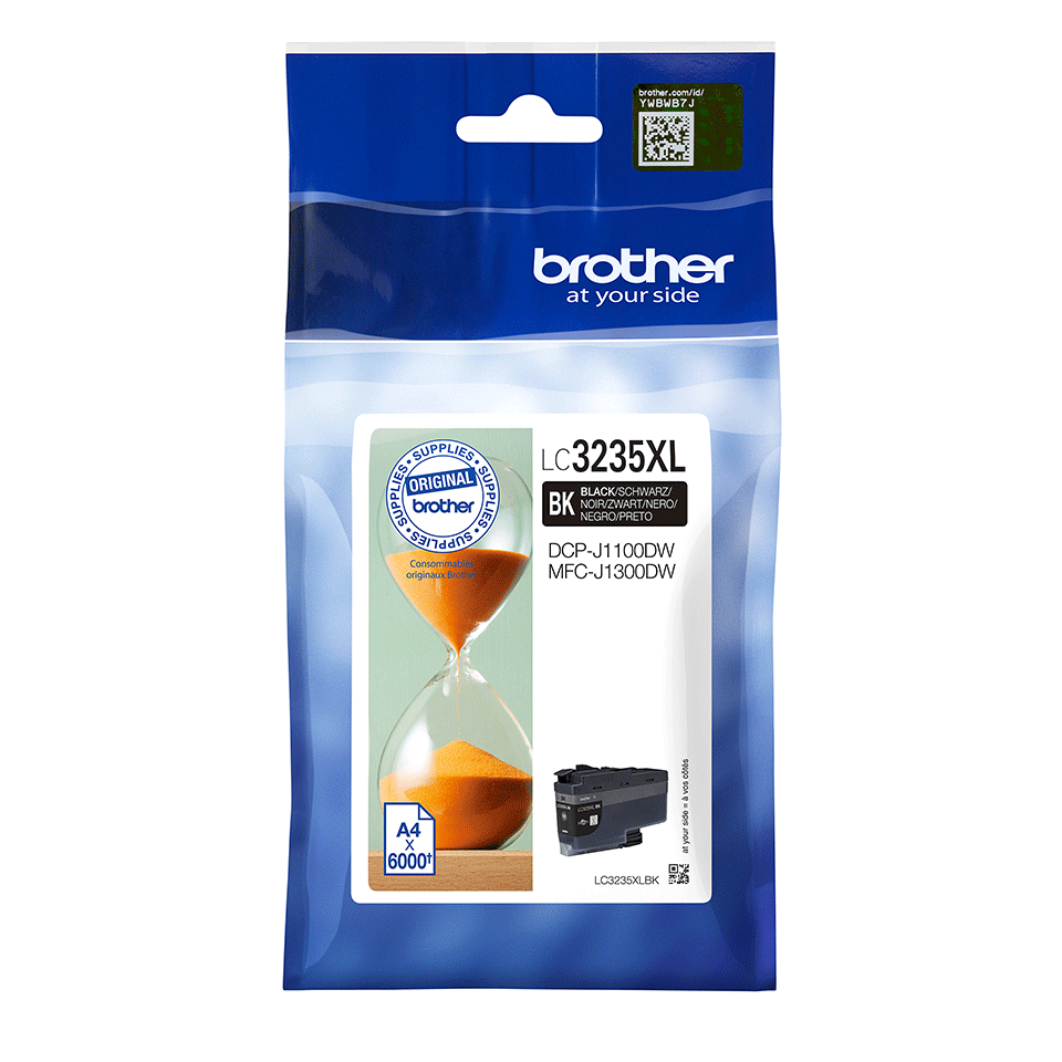 Originele Brother LC-3235XLBK zwarte inktcartridge