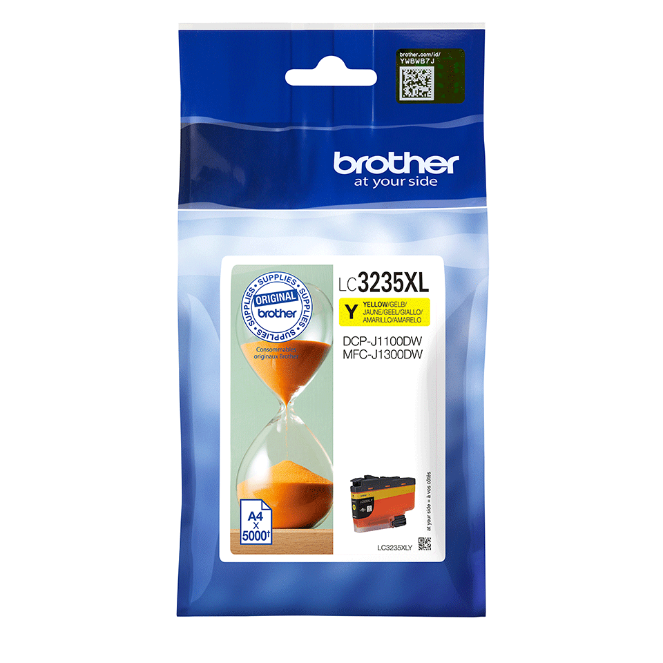 Originele Brother LC-3235XLY gele inktcartridge