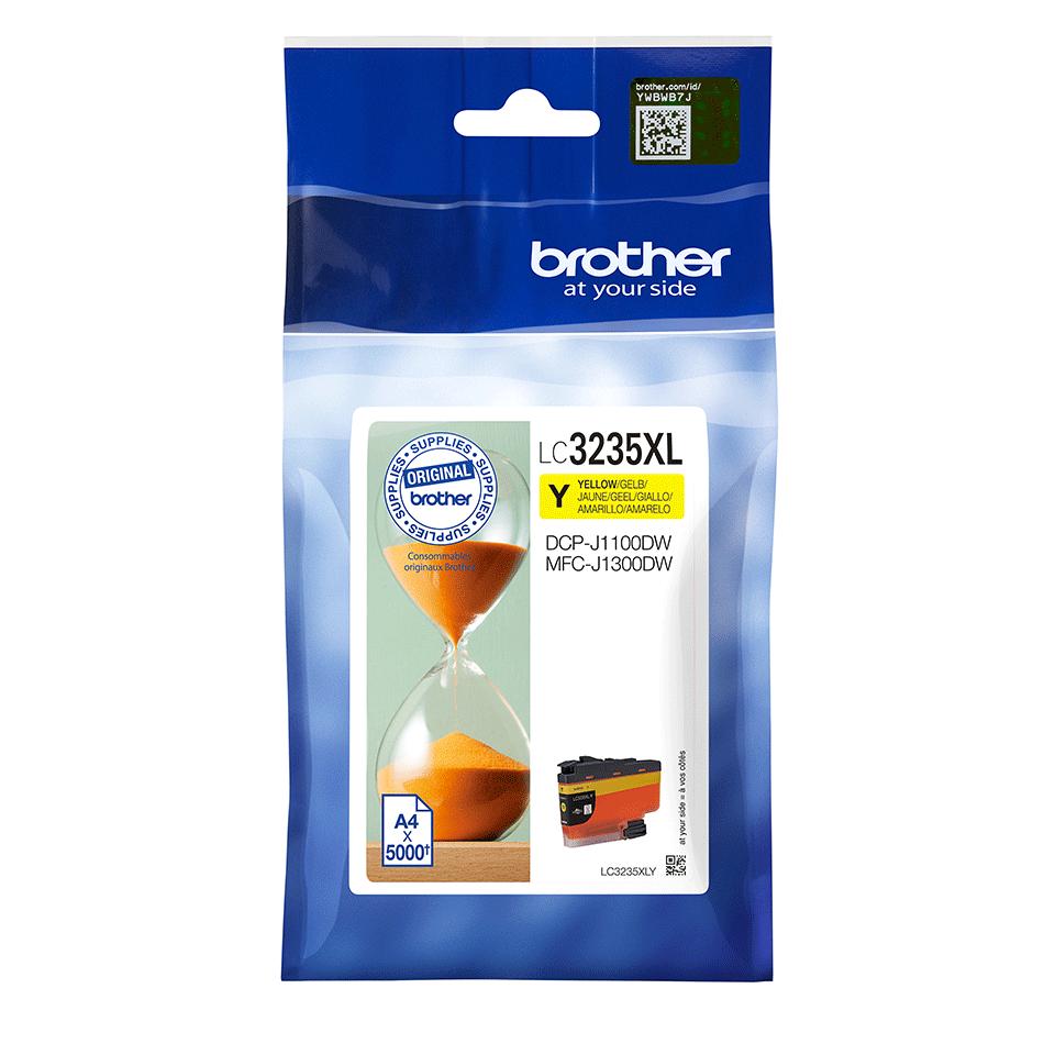 Originele Brother LC-3235XLY gele inktcartridge