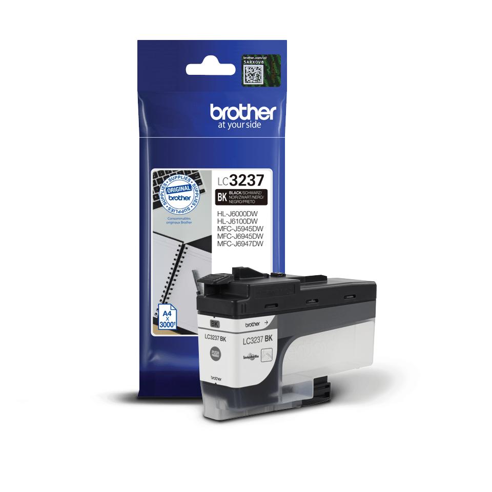 Originele Brother LC-3237BK zwarte inktcartridge met hoge capaciteit 2