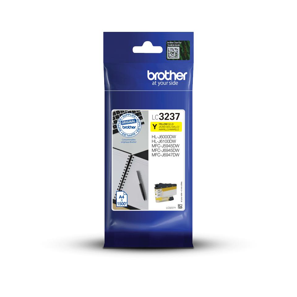 Originele Brother LC-3237Y gele inktcartridge met hoge capaciteit