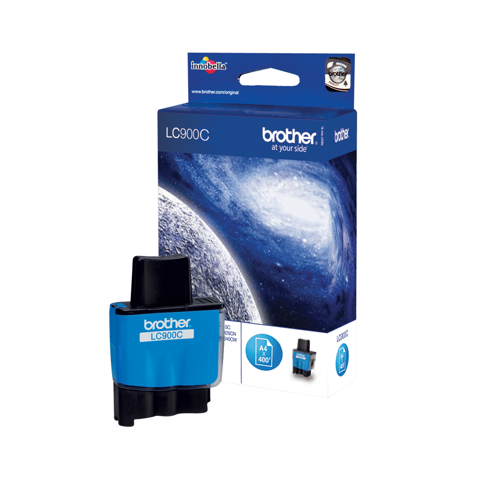 Originele Brother LC-900C cyaan inktcartridge