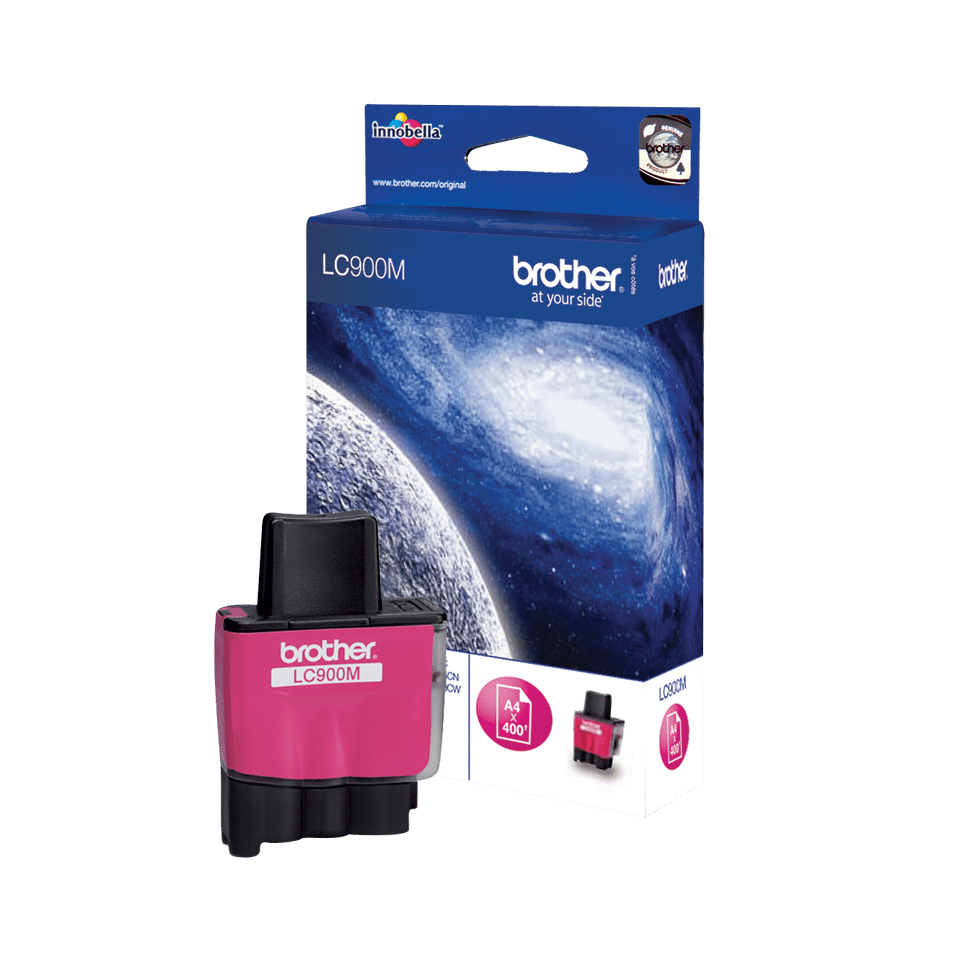 Originele Brother LC-900M magenta inktcartridge 2