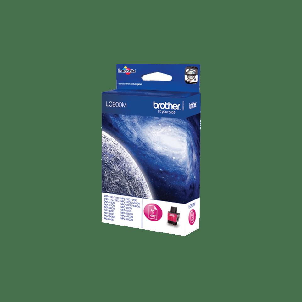 Originele Brother LC-900M magenta inktcartridge 2