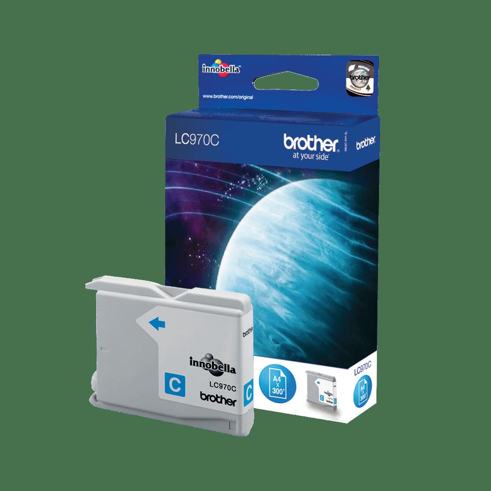 Originele Brother LC-970C cyaan inktcartridge