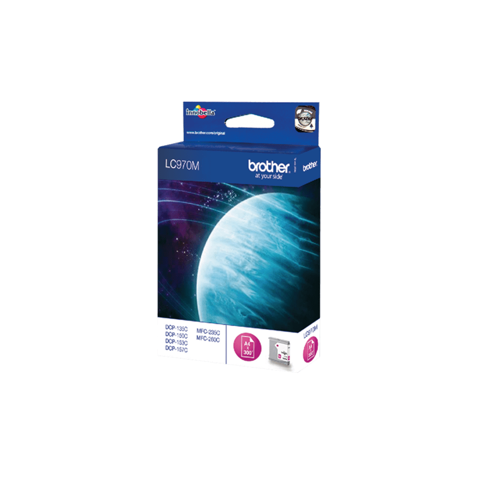 Originele Brother LC-970M magenta inktcartridge 2