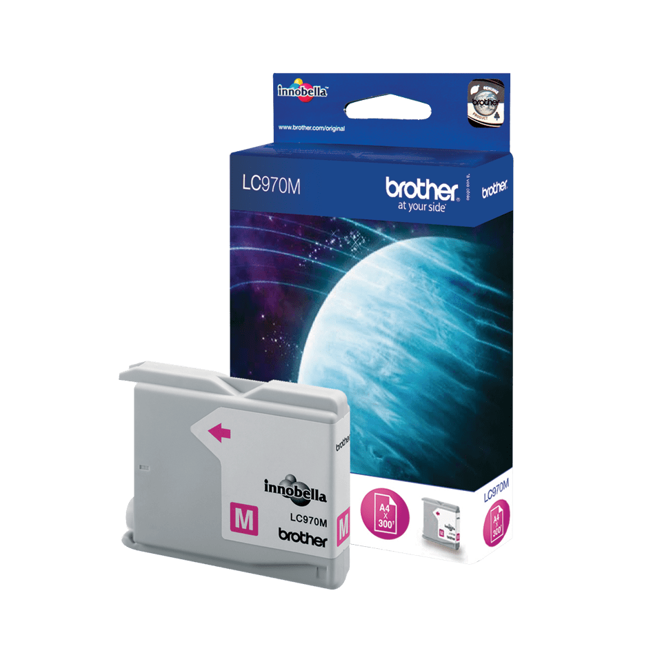 Originele Brother LC-970M magenta inktcartridge