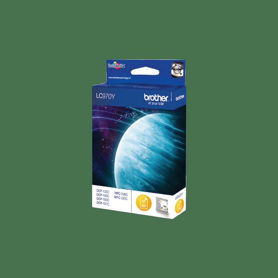 Originele Brother LC-970Y gele inktcartridge