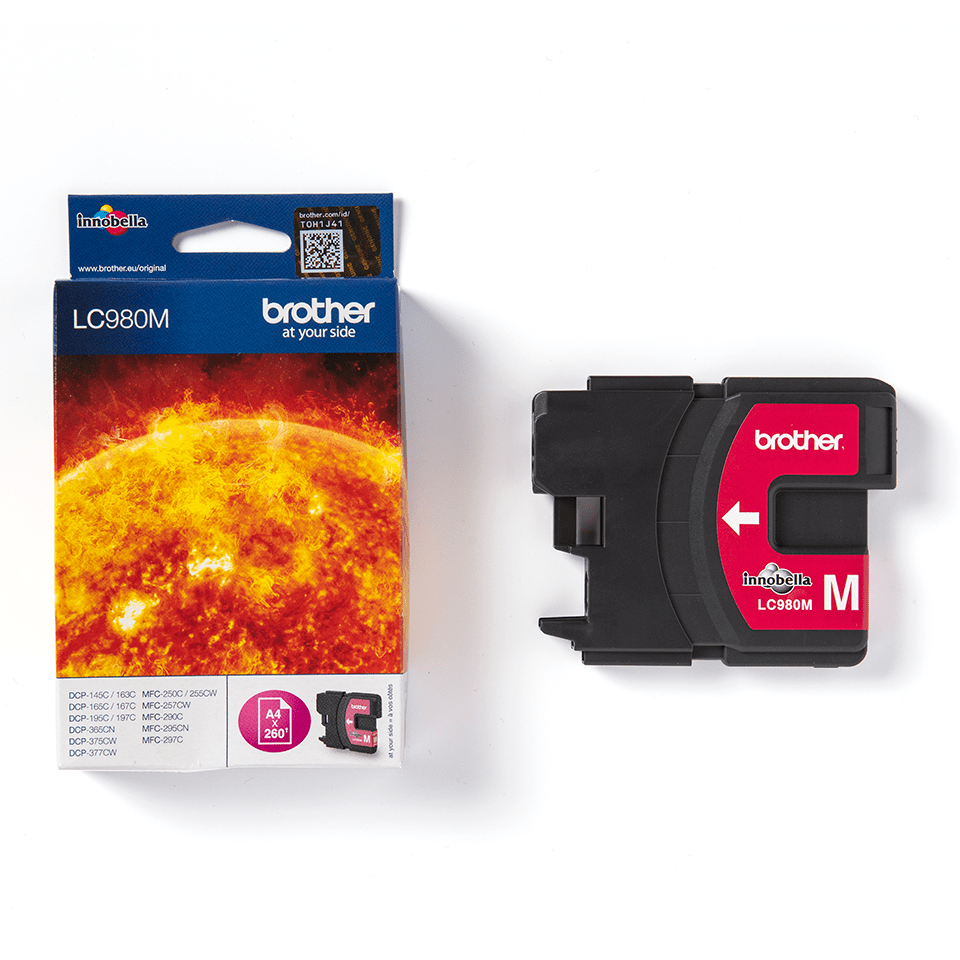 Originele Brother LC-980M magenta inktcartridge 3