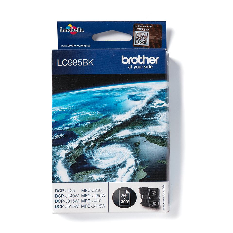 Originele Brother LC-985BK zwarte inktcartridge
