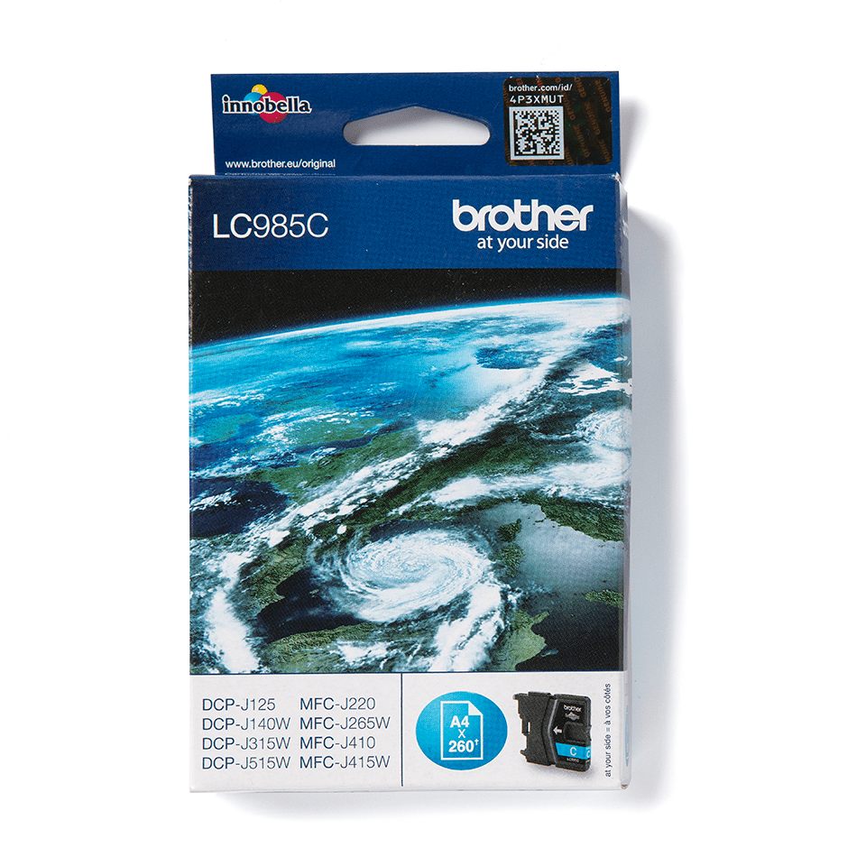Originele Brother LC-985C cyaan inktcartridge 2